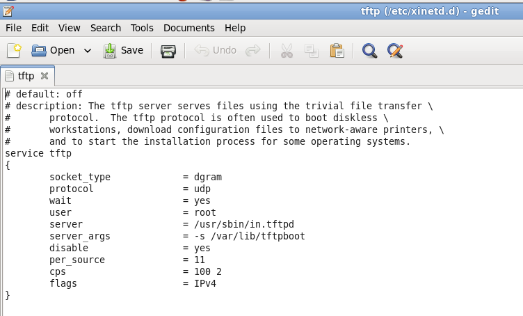 Linux: Start tftp-server | The Network Journal