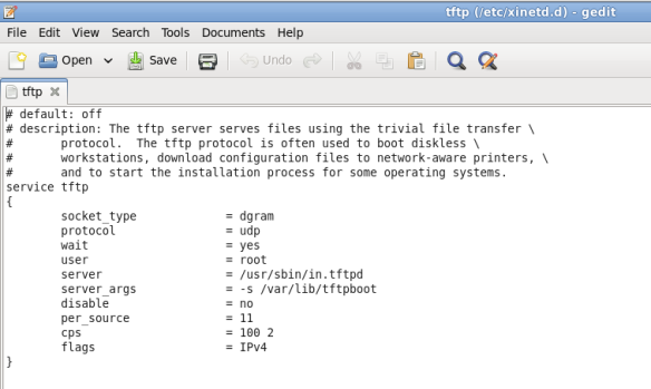 Linux: Setting up tftp server | The Network Journal