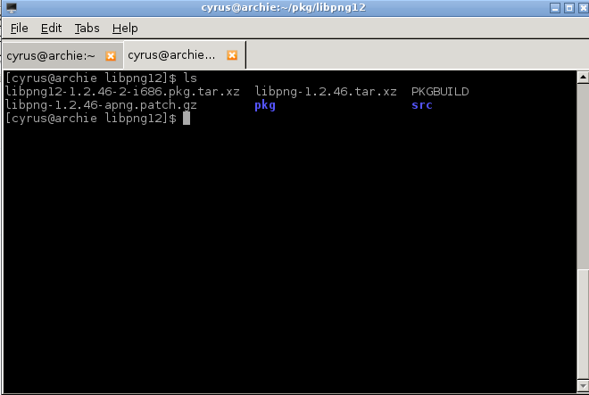 Arch Linux: Installing packages from AUR (Installing google
