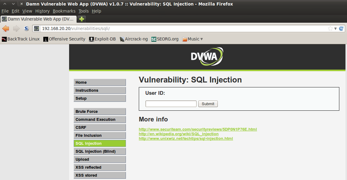 Practical identification of sql injection vulnerabilities