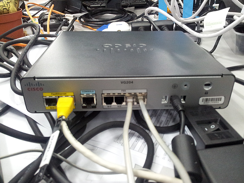 CUCM 8 6(2a) and VG204 integration | The Network Journal