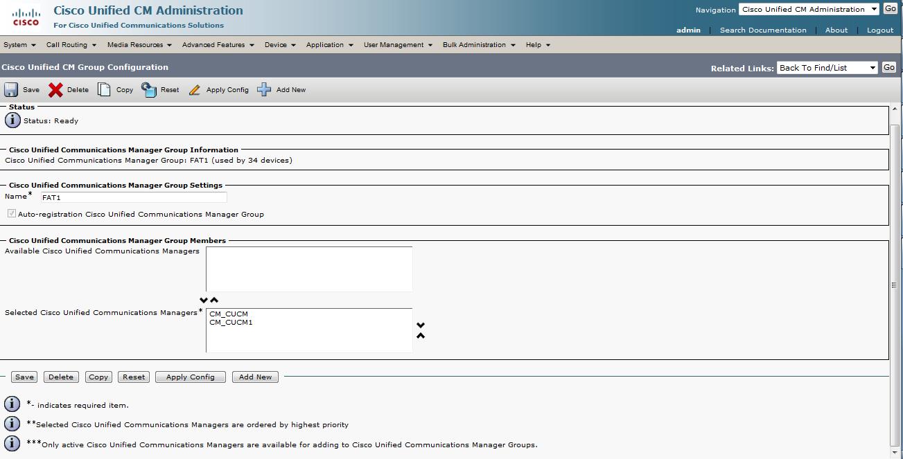 CUCM: Redundancy (Call processing failover) | The Network