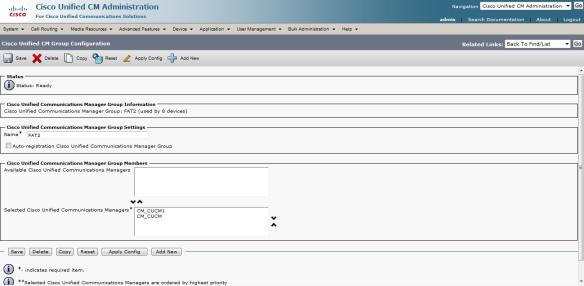 Cisco Phone Registration In Progress