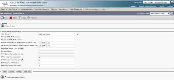 CUCM: Redundancy (Call processing failover)   The Network