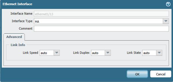 interface type:
