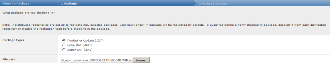 Select the solidcore zip file with suffix WIN.