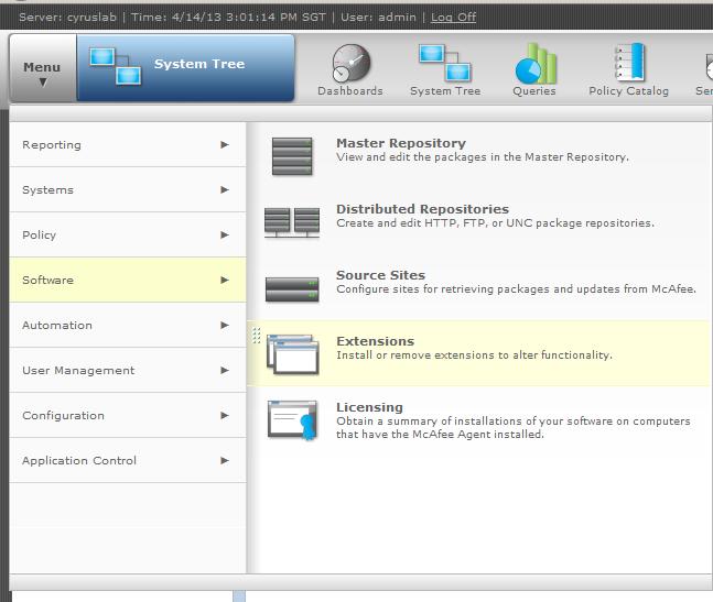 epo 5.9 application control