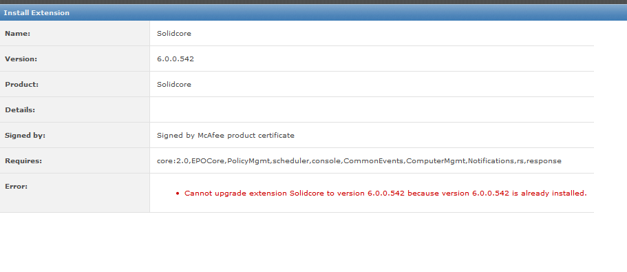 Deploying McAfee Application control with McAfee ePO 4 5 | The