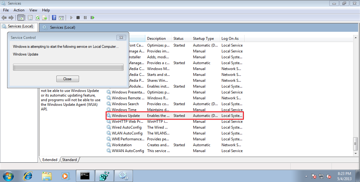 wsus client not detecting approved updates