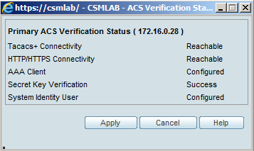 Verification Status popup appears, click on apply button.