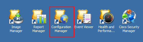 Click on Configuration Manager