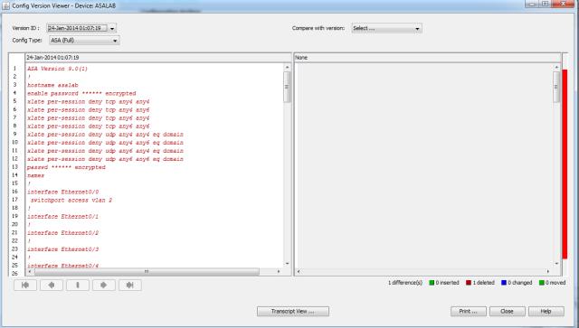 Config Version Viewer