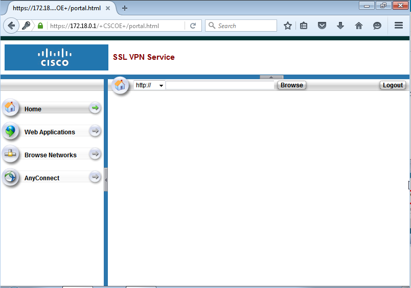 Cisco vpn access denied